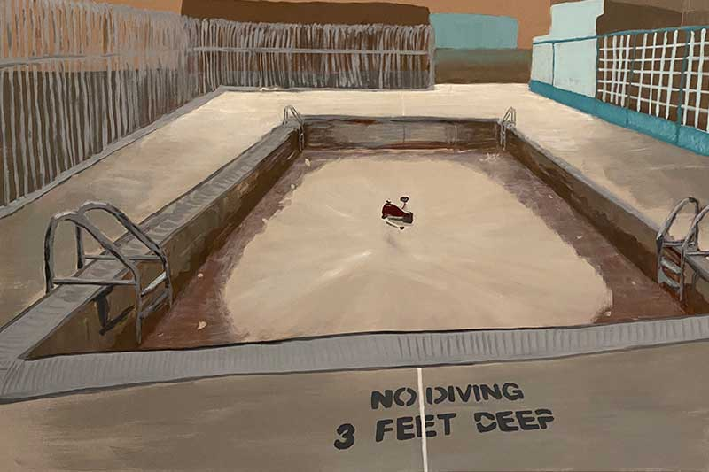 No Diving by Molly Voit