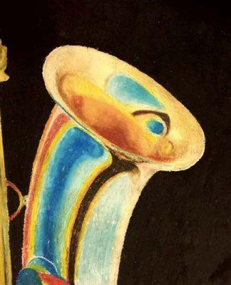 Saxophone by Sarah Solon