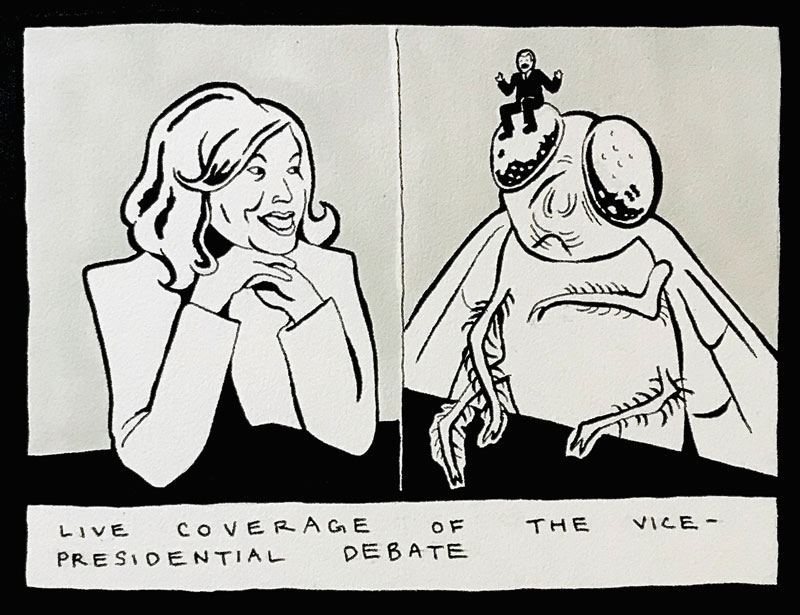 Vice Presidential Debate by Phoebe Wagoner