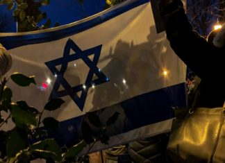 Defending Israel by Dina Barrish - Photo by Marika Campbell-Blue