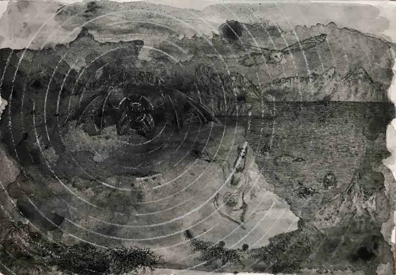 Dante's Hell_2 by Sophie Frankel